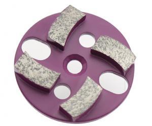 China Marble Metal 4 Seg Diamond Floor Pads For General Purpose Floor Grinding Machines on sale