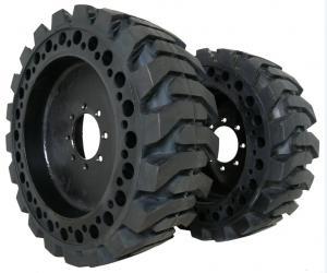 China Skid steer solid tyre for aerial work platform and skid steer loader 10-16.5 on sale