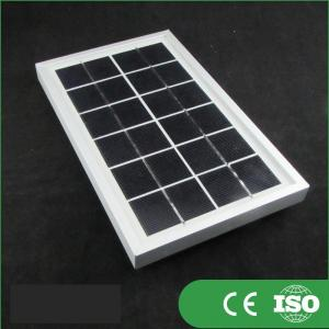 Quality 36 Cells Transparent Mini Solar Panels , Solar Heating Panels TUV Certified for sale