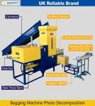 Machine à ensacher de rasage en bois de presse/copeaux en bois (WHATSAPP : +86 1348 513 6716)