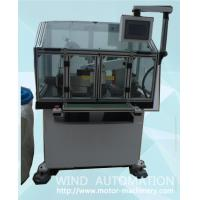 Commutator face roundness turning machine armature  com fine Lathe with 2 axis servo motor WIND-CT-TH4