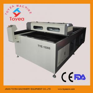 China Carbon steel MDF CO2 Laser Cutting machine with 150W RECI laser tube  TYE-1530 on sale