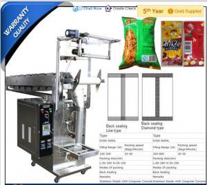 China Potato crisps weighing and packing machines potato weighing machine semi automati, on sale