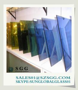 China Professional glass supplier Sun global glass (glass float ,reflective, tinted, reflective, tempered, laminated,) on sale