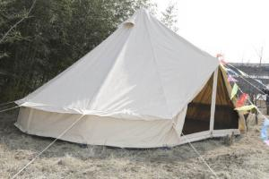 Quality White Canvas Yurt Tent   Cotton Bell Tent For Hiking Equipment for  sale ... 55ae34748
