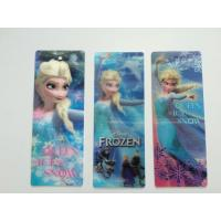 China Creative Plastic 3D Lenticular Bookmark With Tassel For School Use on sale