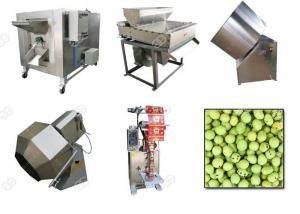 China Small Noise Coated Peanut Snack Production Line , Sugar Peanut Coating Machine on sale