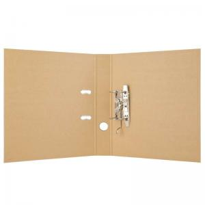 China Portable Conference Brown Kraft Paper File Folders For Business on sale