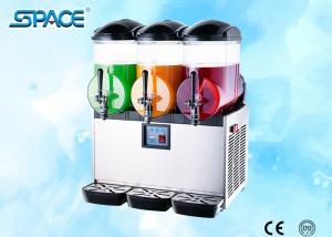 China 3x12L Output Countertop Frozen Drink Dispenser Slush Maker Machine Low Noise on sale