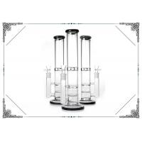 Straight Glass Water Pipe Turbine Percolator Smoking Bongs Honeycomb Pec Hookah