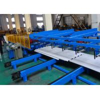 12 - 15 M/Min Metal Roof Roll Forming Machine With Redundant Material Slitter