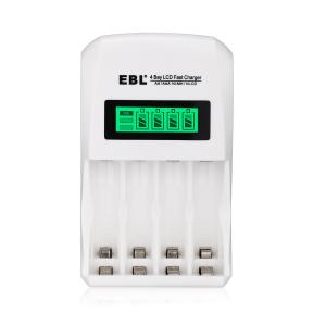 China LCD Smart aa aaa battery charger , Ni-MH Ni-CD rechargeable batteries and charger on sale