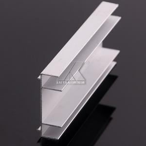 China Powder Coated Aluminum Profiles for Glass Curtain Wall on sale