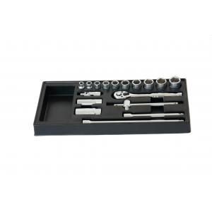 China Easy to move 16PC Socket Complete Tool Set with Extension Bar, Universal Joint on sale