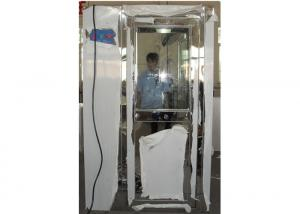 China Automatic Stainless Steel Air Shower Tunnel KEL-AS1400P Series For One Personal on sale