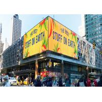 China P10mm Full Color Outdoor LED Advertising Display Billboard 1 / 4 Scan on sale