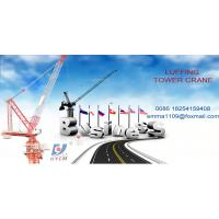 China 8tons Luffing Crane Tower D120(4522) Jib Towercrane For High Buildings on sale
