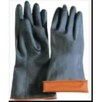 Latex Industrial Gloves, Double Color