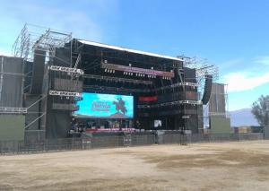 China Thin High Brightness Outdoor Rental Led Screen Video For Event , Energy Saving on sale