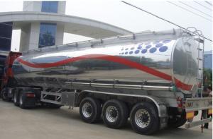 China VENTE CHAUDE ! 3 des axes 44m3 d'alliage d'aluminium de réservoir de stockage de pétrole remorque semi à vendre, la meilleure remorque de réservoir de carburant d'axes de la marque 3 des prix CLW on sale