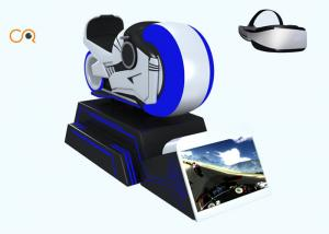 China 9D VR Racing Simulator / Virtual Reality Motorcycle Game Machine For Gym Sports on sale