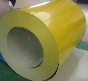 China Prepainted Galvanized Galvalume colour coated sheets Coils Rolls For automatic vending machine on sale