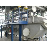 Vibro Fluid Bed Powder vibrating Dryer Machine For Cellulose Acetate Butyrate Electrical Heating