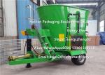 7CBM Vertical TMR Mixers For Cow Farms , CE Certificate Cattle Feed Mixer