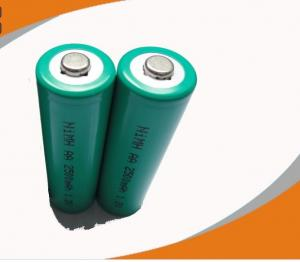 China Rapid charge performance 2500mAh 1.2v Nickel Metal Hydride Rechargeable Batteries on sale
