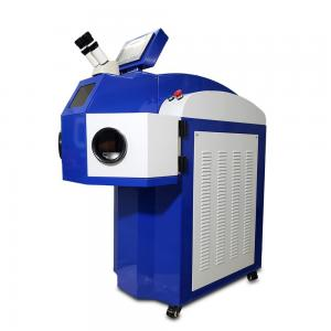 China Industrial Small Laser Welding Machine / 200W Spot Jewelry Laser Welder on sale