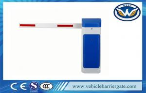 China Updated RFID Photocell Driveway Barrier Gates Swing Out Logo Print on sale