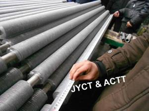 China Copper Nickel / Aluminum Extruded Finned Tube For Heat Exchanger Condenser on sale