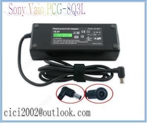 China New OWM  AC Adapter Charger for Sony Vaio PCG-8Q3L,19.5V Laptop Adapter Replace on sale