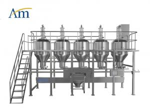 China PLC Control Pharmaceutical Industry Equipment Automated Powder Dispensing System on sale