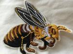Metal Thread Custom Embroidered Patches  Sew On Cloth Badges Nice Design