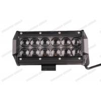 7.5inch Double LED Light Bar 36w 4x4 Spot / Flood / Combo Beam With 4D Lenses