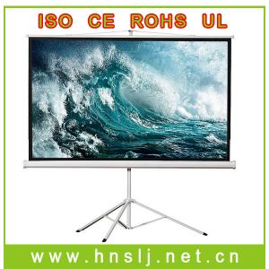 China Tripod projection screen best suitable for outdoors of outdoor screen on sale