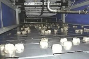 China Pouring Toffee Candy Production Machine , Hard Soft Candy Making Machine on sale