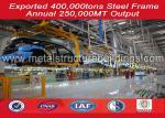 Fast Build Pre - Engineered Steel Structure Warehouse , Prefab Metal Buildings