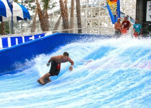 Quality Aqua Play Flowrider Water Ride For Skateboarding Surfing Sport/ Fiberglass Water Slide for sale