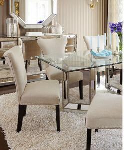 Antique Mirrored Glass Square Dining Table Tempered Glass Top Dining Table For Sale Mirrored Dining Table Manufacturer From China 107589191