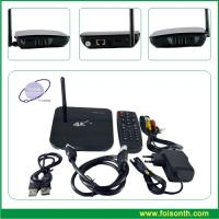 Foisontech Smart TV Box with Processor Rk3288 Support H. 265 and 4k