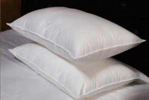 China O algodão tranquilo costurado dobro empluma-se para baixo a inserção do descanso com a pena branca do ganso on sale