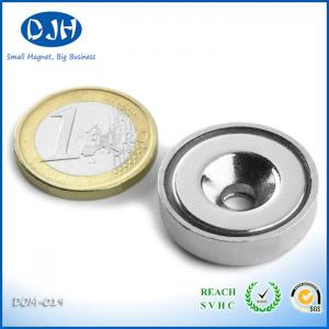 China N35 - N40 Custom Neodymium Magnet Ring Powerful Car Magnetic Holders on sale