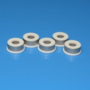China High Voltage Ceramic Electrical Insulators Polished Surface  Wear Resistance on sale
