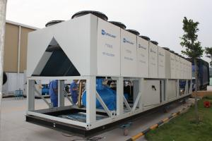 China Semi Hermelic Dual Screw R134a 1367.3kw Commercial Air cooled chiller on sale