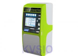 China Metro Railway Ticket Vending Machine Powder Coating Or Automobile Painting Enclosure on sale