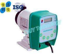 China Corrosion Resistant Sodium Hypochlorite Dosing System Metering Diaphragm Pump on sale