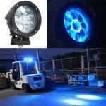 XRL-27W Led Work Light Forklift Red Zone Danger Area Warning Light Blue Safety