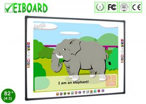China CCD Touch Sensor Digital Interactive Whiteboard Education High Precision Anti Scratch on sale